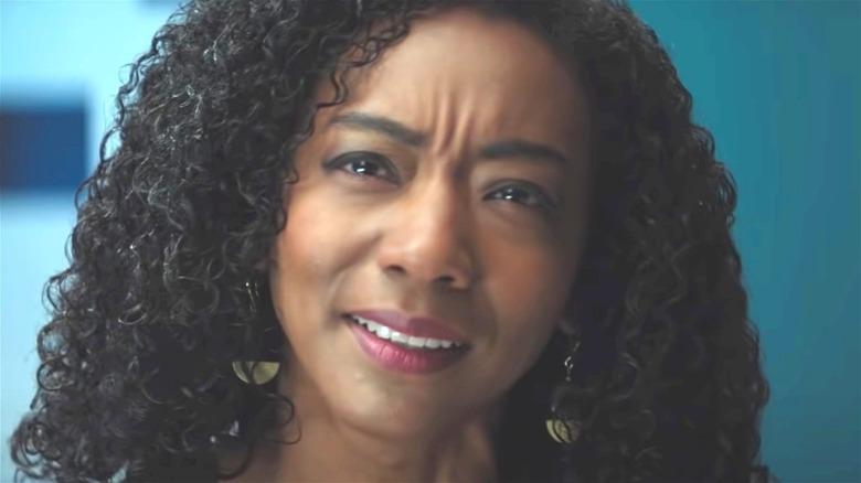 Betty Gabriel curly hair