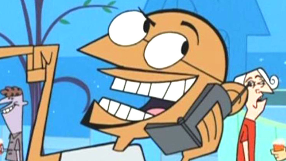 Gandhi on the phone in Clone High