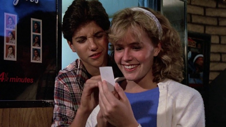 Ralph Macchio and Elisabeth Shue in The Karate Kid