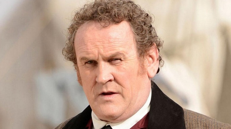 Colm Meaney looking tense