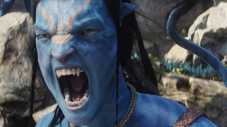 Sam Worthington as Jake Sully in Avatar