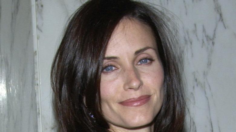 Courtney Cox Gala Face