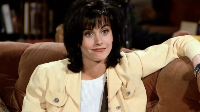 Courteney Cox as Monica Geller on Friends