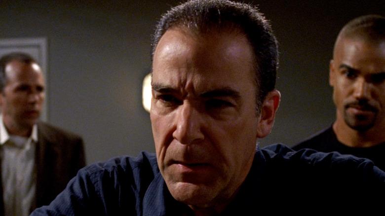 Gideon looks distraught