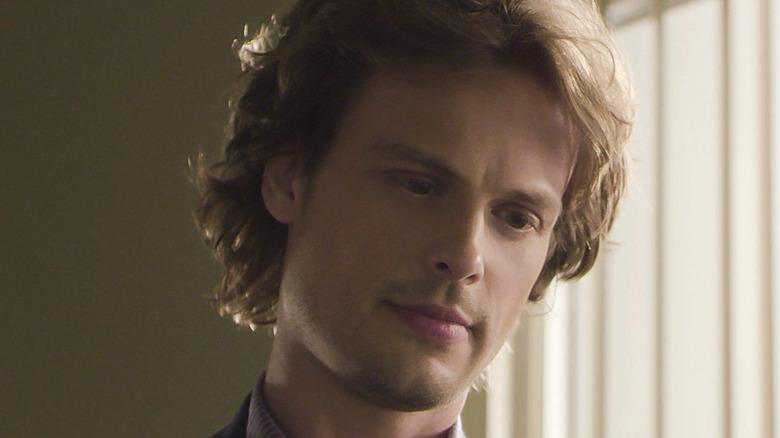 Spencer Reid staring down
