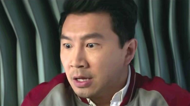 Shang-Chi looking shocked