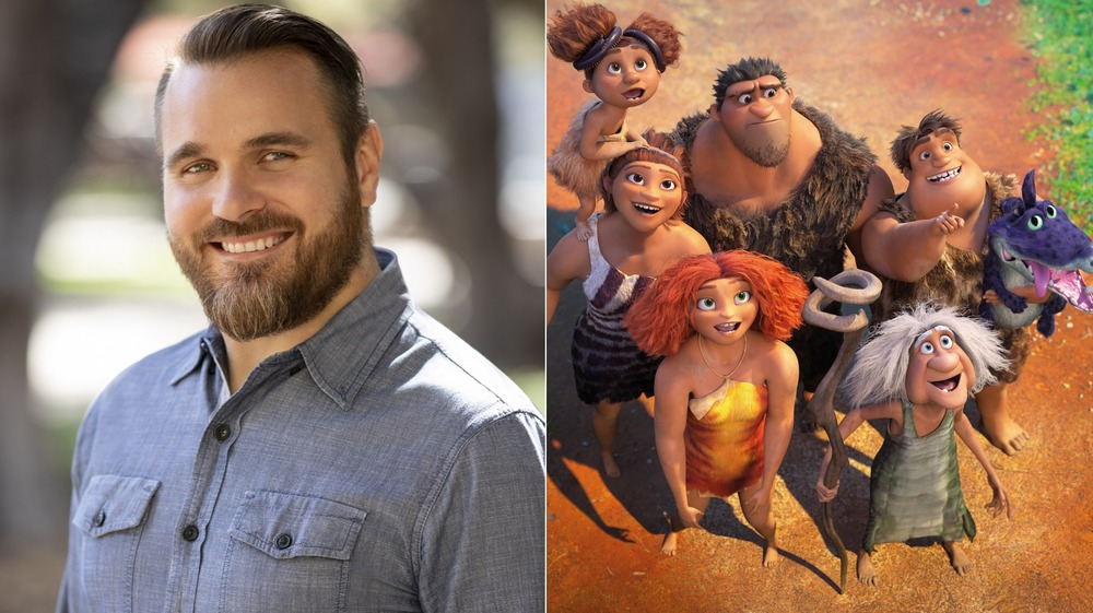 Joel Crawford, director of DreamWorks Animation's The Croods: A New Age