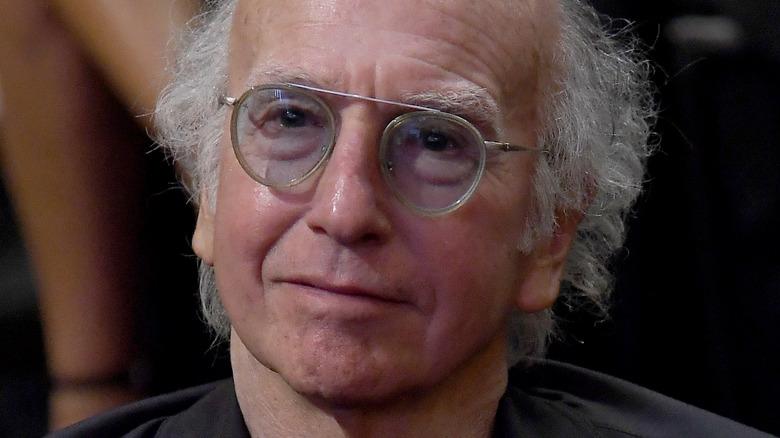 Larry David looking content