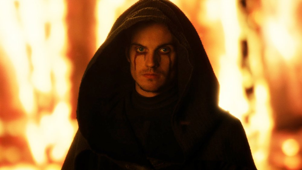 Daniel Sharman as the Weeping Monk on Cursed
