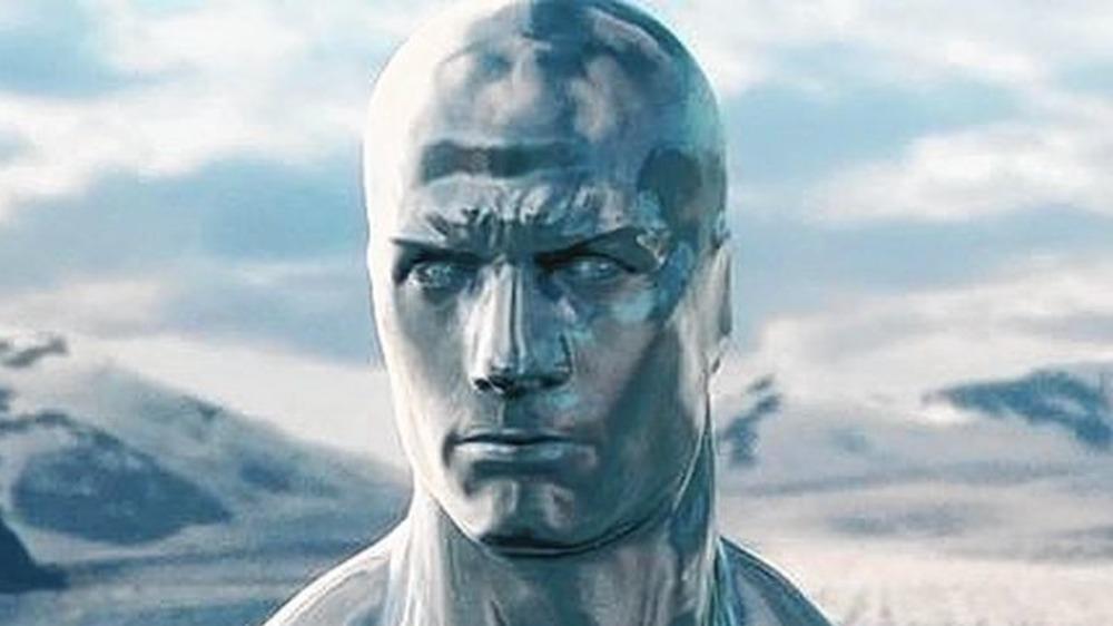 Doug Jones as the Silver Surfer