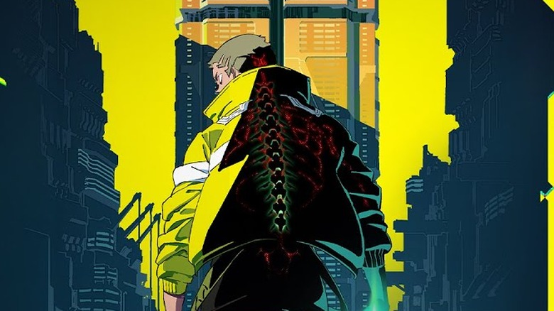 A promo image for Cyberpunk: Edgerunners
