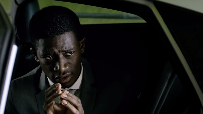 Damson Idris in car Black Mirror