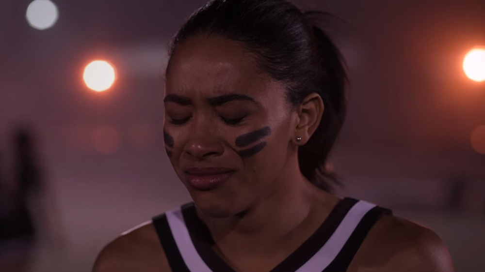 Dare Me cheerleader crying
