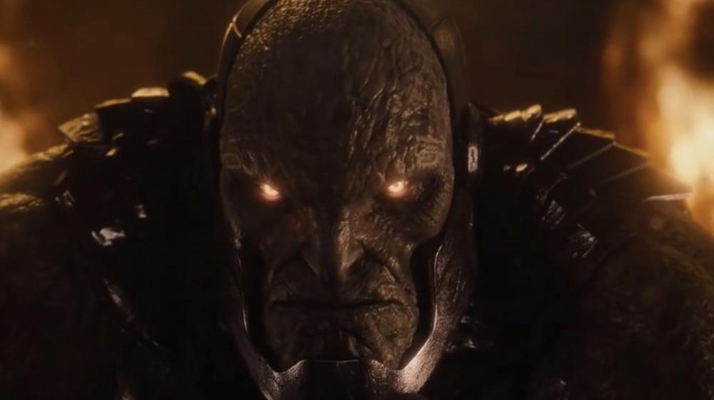 Darkseid glowering