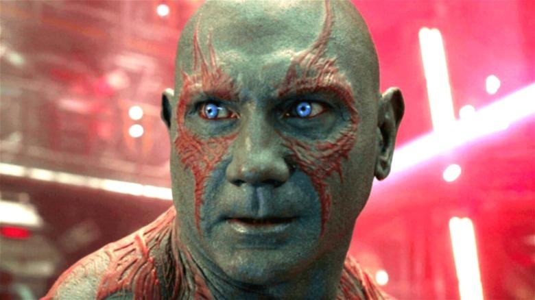 Dave Bautista Drax blue eyes
