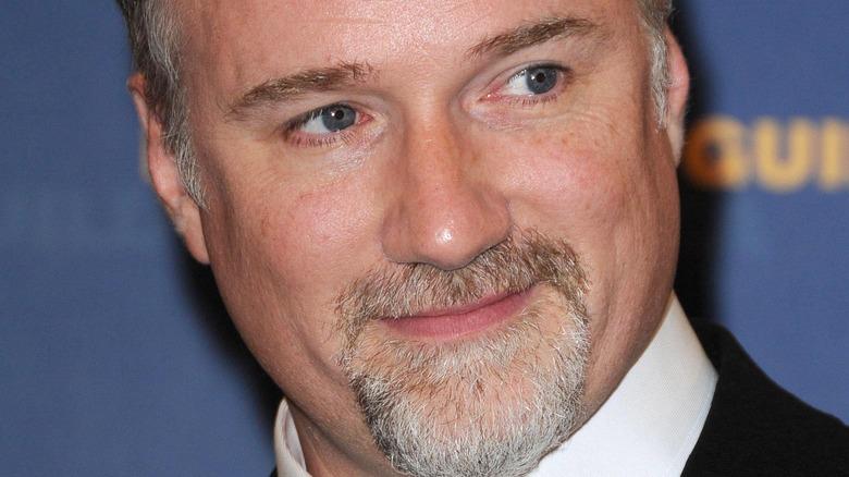 David Fincher at a red carpet event