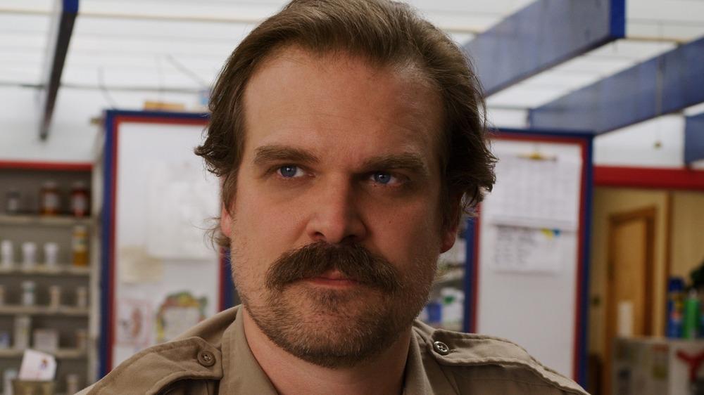 Hopper with mustache