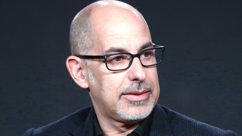 David S. Goyer glasses