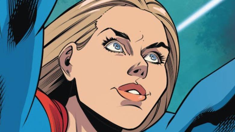 Supergirl flying in Supergirl #42 (2020)
