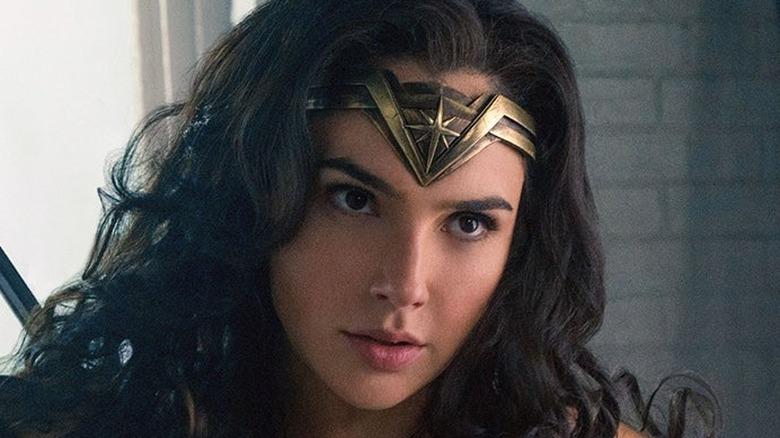 Wonder Woman gold tiara