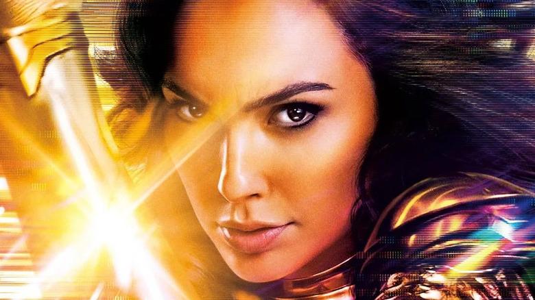 Wonder Woman wields sword