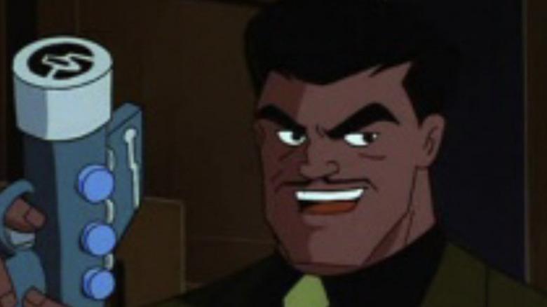 Bruno Mannheim evil grin