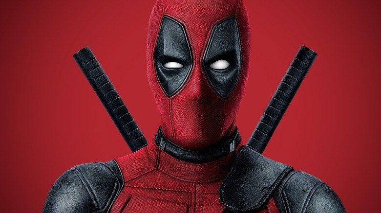 Deadpool red background