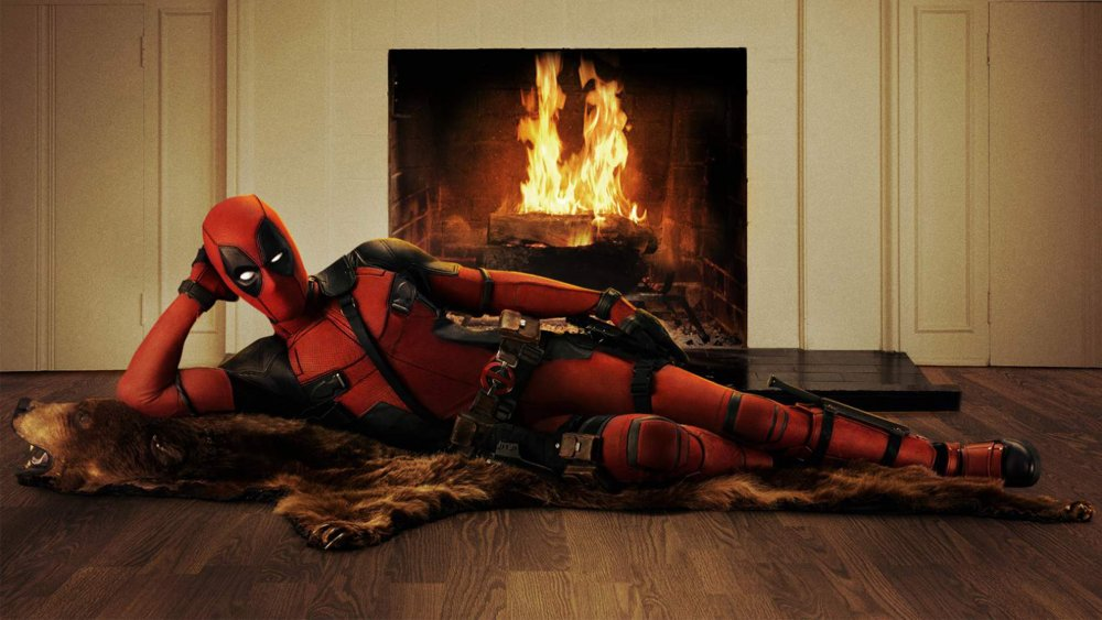 Promo art of Ryan Reynolds as Deadpool