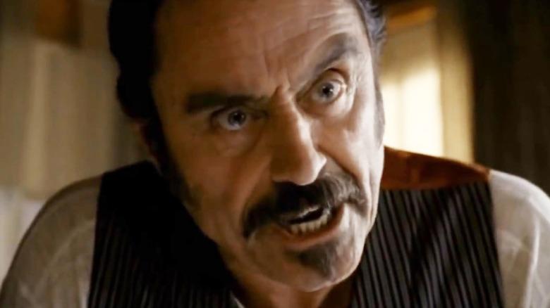 Ian McShane as Al Swearengen on Deadwood
