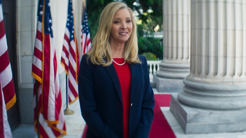 Lisa Kudrow at White House