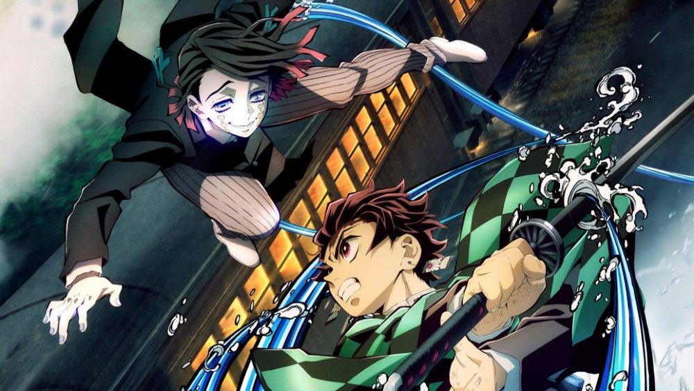 Promotional art for Demon Slayer the Movie: Mugen Train