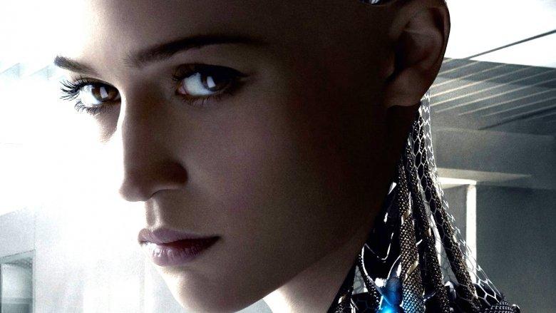 Alicia Vikander in Ex Machina poster