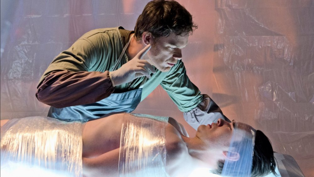 Micheal C. Hall as Dexter in Showtime's Dexter