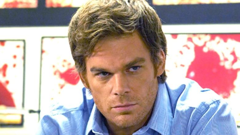 Hall in Dexter scene