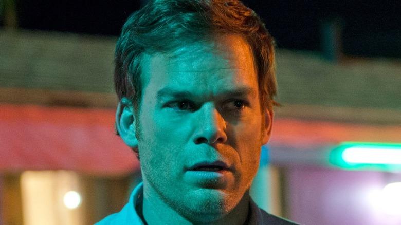 Dexter looking sinister