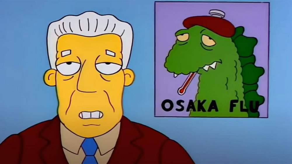 """The Simpsons Osaka Flu from """"Marge in Chains"""" (1993)"""