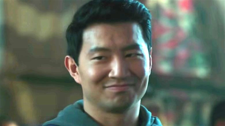 Shang-Chi smiling