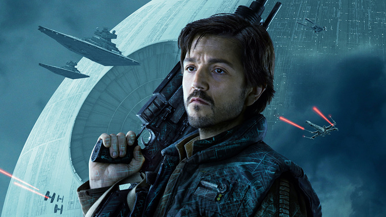 Diego Luna in poster for Rogue One: A Star Wars Story