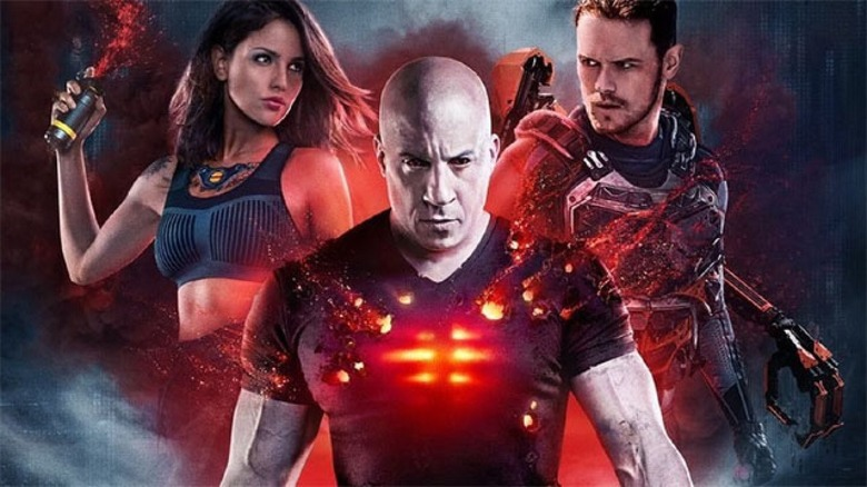 The cast of Bloodshot