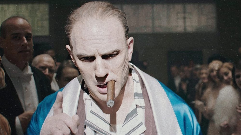 Tom Hardy as Al Capone receives some applause