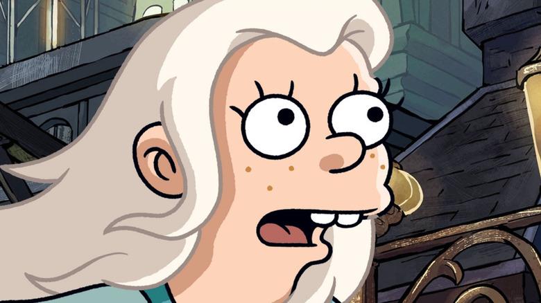Bean being shocked