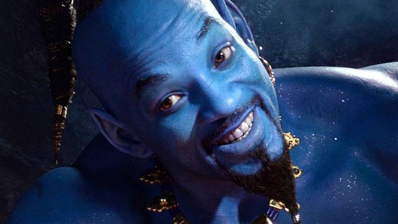 Will Smith blue Genie live-action Aladdin