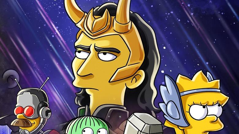 The Simpsons Loki