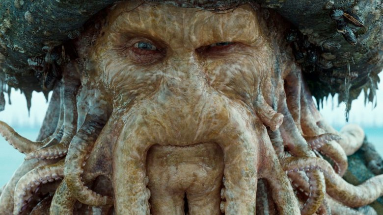 Davy Jones in Pirates of the Caribbean: Dead Man's Chest