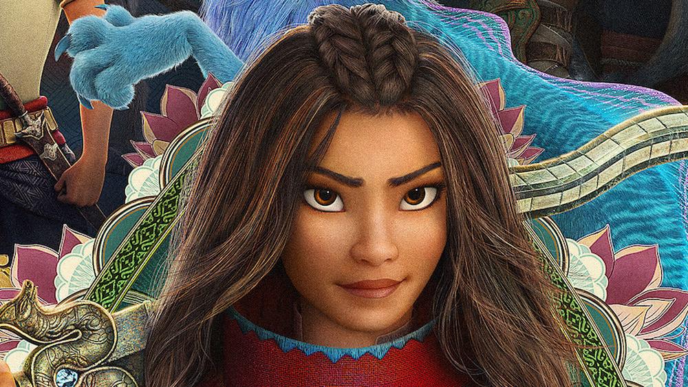 Raya and the Last Dragon smirk