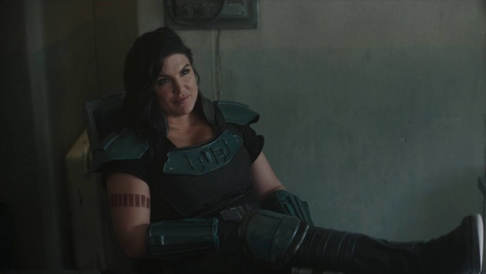 Gina Carano stars as Cara Dune on The Mandalorian