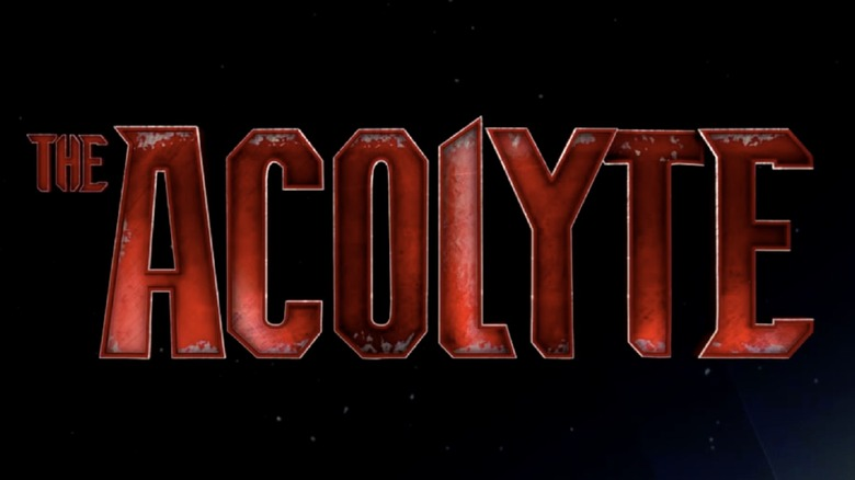 The logo for The Acolyte