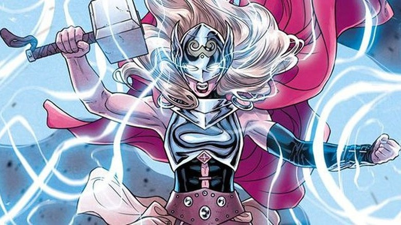Jane Foster as the Mighty Thor.