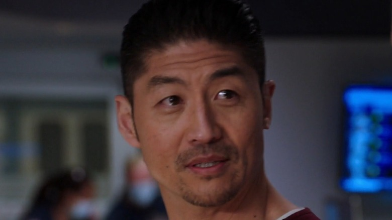 Dr. Choi turning his head