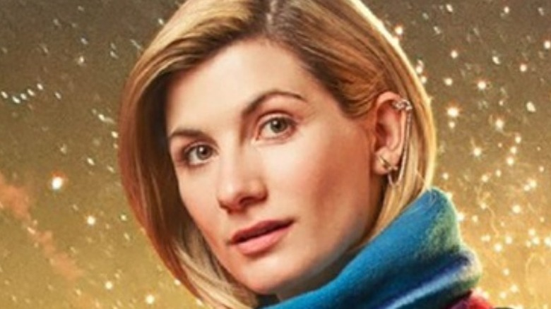 13th Doctor with fireworks
